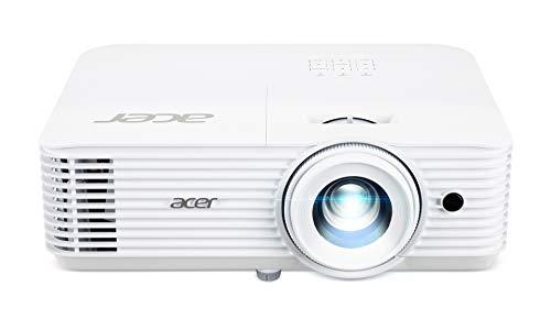 Acer H6541BD DLP Beamer (FHD (1.920 x 1.080 Pixel) 4.000 ANSI Lumen, 10.000:1 Kontrast, 3D, Keystone, Lautsprecher, HDMI (HDCP),VGA, Audio) Heimkino