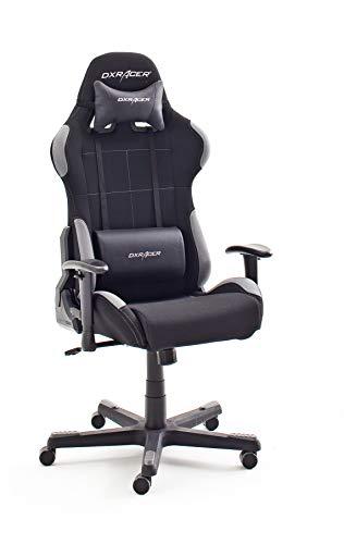 Robas Lund OH/FD01/NG DX Racer 5 Gaming Stuhl/ Büro-/ Schreibtischstuhl, mit Wippfunktion Gamer Stuhl Höhenverstellbarer Drehstuhl PC Stuhl Ergonomischer...