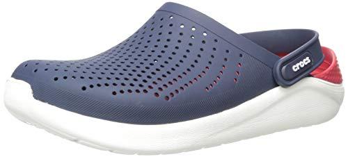 Crocs Unisex-Erwachsene LiteRide Clogs, Blau (Navy/Pepper 4cc), 43/44 EU