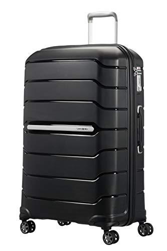 Samsonite Flux - Spinner L Erweiterbar Koffer, 75 cm, 111 L, Schwarz (Black)