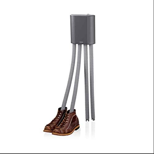 Melissa 16540011 Schuhtrockner elektrisch, Stiefelwärmer, Gummistiefel,Wanderschuhe,Skischuhe, Heizung mit Gebläse und Zeitschaltuhr für 2 Paar Schuhe/Handschuhe,...