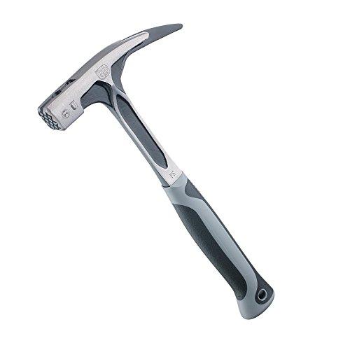 Ruthe 6006041019 Latthammer 600g VPA/GS mit Vollstahlstiel in grau/schwarz