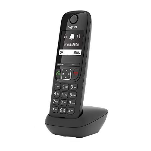 Gigaset AS690 - Schnurloses Telefon - großes, kontrastreiches Display - brillante Audioqualität - einstellbare Klangprofile - Freisprechfunktion - Anrufschutz,...