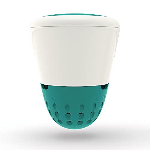 Ondilo ICO Elektronisches Wassertestgerät für Swimmingpools, Wasseranalysegerät für pH/Chlor/Leitfähigkeit/Temperatur, WiFi & Bluetooth, türkis