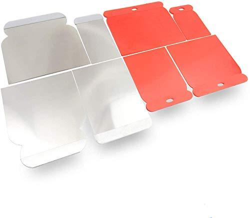 rokkel Japanspachtel Set - flexible Blätter aus rostfreien Edelstahl sowie Kunststoff zum glätten und abziehen - 8er Set