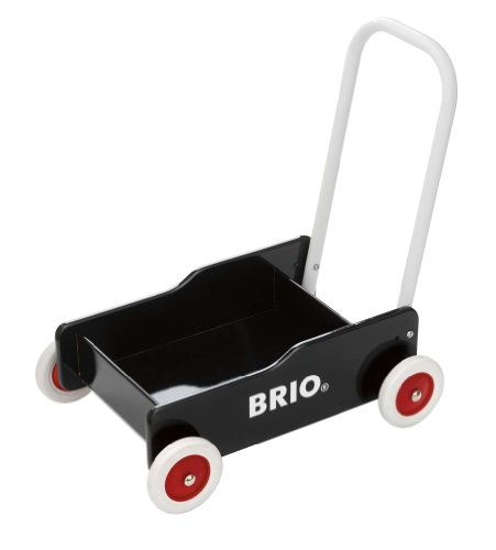 BRIO 31351000 - Lauflernwagen, schwarz