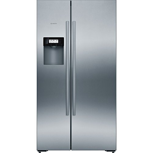Bosch KAD92AI30 Series 6 American Side-by-Side / A ++ / 175,6 x 91,2 cm / 348 kWh / year / Inox-antifingerprint / 368 L fridge / 173 L freezer / NoFrost / ...