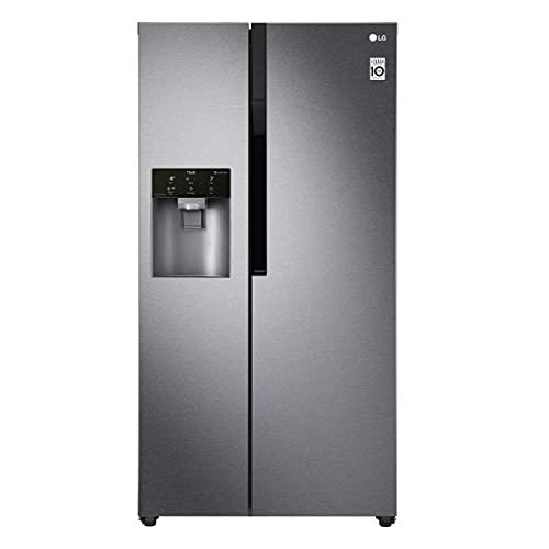 LG Electronics GSL 361 ICEZ Side by Side / A++ / 179 cm / 375 kWh/Jahr / 394 Litre / 197 Gefrierteil / Digitaldisplay mit Temperaturregelung / No Frost / dunkel...