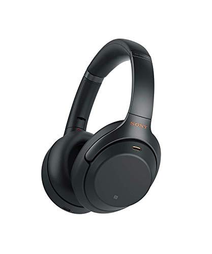 Sony WH-1000XM3 Bluetooth Noise Canceling Headphone (30h Battery, Touch Sensor, Headphones Connect App, Fast Charge, Amazon Alexa) Black