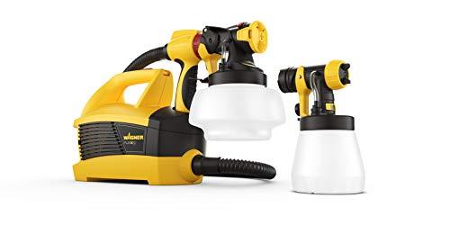 WAGNER Farbsprühsystem W 690 FLEXiO für Dispersions-/Latexfarben, Lacke & Lasuren im Innen- & Außenbereich, 15 m²-6 min, Behälter 1800 ml/800 ml, 630 W,...