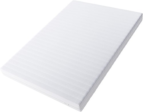 Hilding Sweden Essentials Schaumstoffmatratze in Weiß / Mittelfeste Matratze mit orthopädischem 7-Zonen-Schnitt für alle Schlaftypen (H2-H3) Classic / 200 x 90 x...