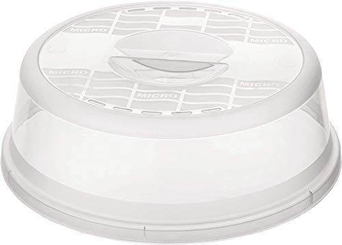 Rotho Basic mikroaaltokansi, muovi (BPA-vapaa), läpinäkyvä