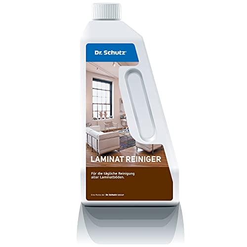 Dr. Schutz Laminatreiniger 750 ml | Laminat Bodenreiniger | Laminat streifenfrei reinigen | entfernt Schmutz, Fett und Schuhabriebe | Laminatboden Reiniger | auch...