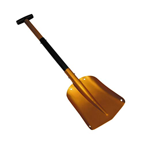 MFH avalanche shovel aluminum 3-part extendable handle only 600g shovel with small pack size