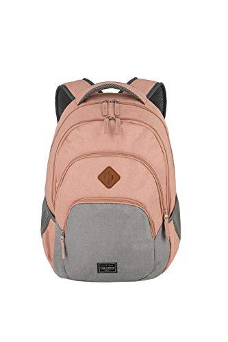 travelite Rucksack Handgepäck mit Laptop Fach 15,6 Zoll, Gepäck Serie BASICS Daypack Melange: Modischer Rucksack in Melange Optik, 096308-17, 45 cm, 22 Liter,...