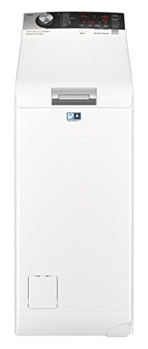 AEG L7TE84565 Waschmaschine / EEK A+++ ( 122 kWh/Jahr / 6 kg / ProSteam Technologie / ProSense Mengenautomatik / Toplader / Startzeitvorwahl / Knitterschutz / weiß