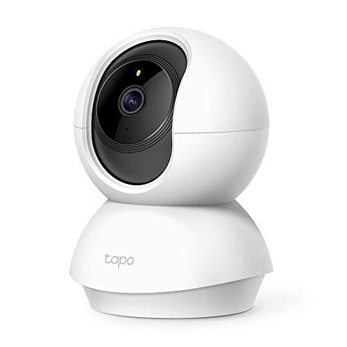 TP-Link Tapo C200 WLAN IP Kamera Überwachungskamera (Linsenschwenkung- und Neigung, 1080p-Auflösung, 2-Wege-Audio, Nachtsicht zu 9m, bis zu 128 GB lokaler Speicher...