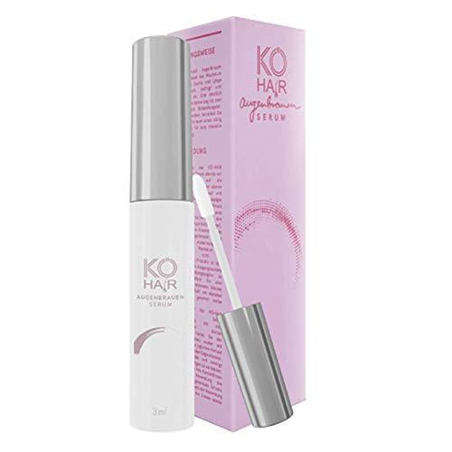 Augenbrauenserum Booster (3 ml), hochwirksames Serum zum Augenbrauenwachstum für volle und kräftige Brauen, basiert auf natürlichen Inhaltsstoffen, von KÖ-HAIR...