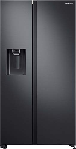 Samsung RS5000 RS64R5302B4/EG Side-by-Side Kühlschrank/A++ / 617 Liter/Space Max/All Around Cooling/Black Steel
