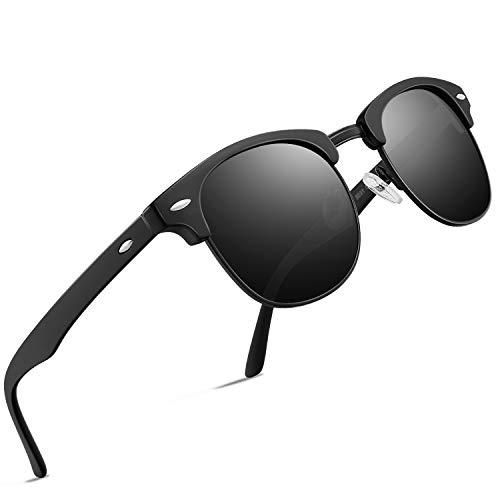 BLEVET Klassisch Gro/ß Damen Sonnenbrille Polarisiert 100/% UV-Schutz