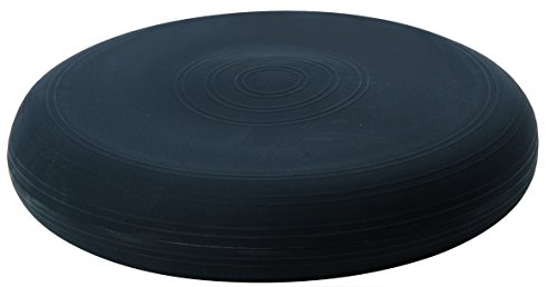 TOGU Dynair Ballkissen Sitzkissen 33 cm (Das Original), schwarz