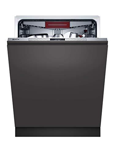 Neff S255ECX11E N 50 XXL-Vollintegrierter Geschirrspüler, 13 Maßgedecke, 60cm, Edelstahl
