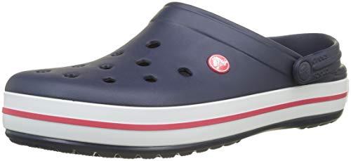 crocs Unisex-Erwachsene Crocband U' Clogs, Blau(Navy), 43/44 EU