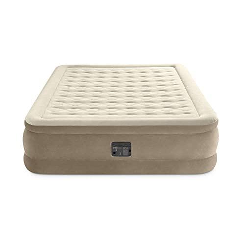 Intex 64428NP Luftbett Ultra Plush Bed Queen 230 V, Beige