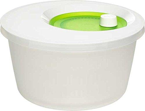 Emsa Salatschleuder, Kunststoff, Basic Grün, 4 L
