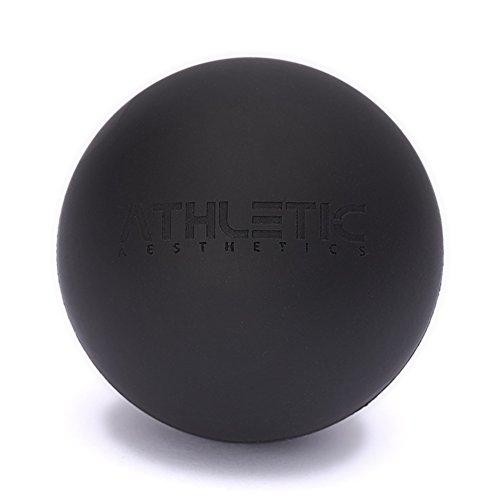 ATHLETIC AESTHETICS Massage-Ball [6cm Durchmesser] - Als Lacrosse-Ball und Faszien-Ball zur Selbstmassage und zur Triggerpunkttherapie (genaue Behandlung von...