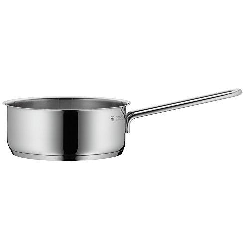 WMF Mini Stielkasserolle, 14 cm, klein, ohne Deckel, Kochtopf 0,9l, kleiner Topf für Singlehaushalt, Cromargan Edelstahl poliert, Induktion, stapelbar, ideal für...