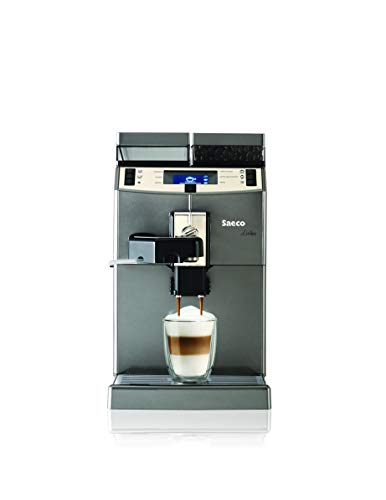 Saeco 10004768 Kaffeevollautomat, Edelstahl, 2 liters, Schwarz, Medium