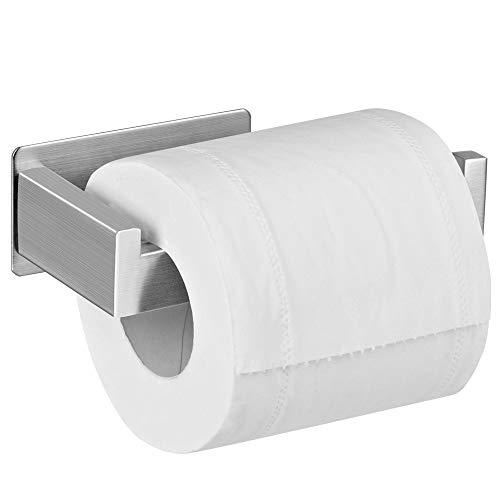 Aikzik Toilettenpapierhalter Ohne Bohren, Selbstklebend Toilettenpapierrollenhalter Edelstahl Klopapierhalter Wc Halter Rollenhalter Klorollenhalter Papierhalter...