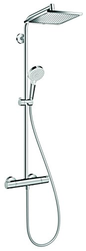 hansgrohe Crometta E 240 shower system, 2 spray, chrome