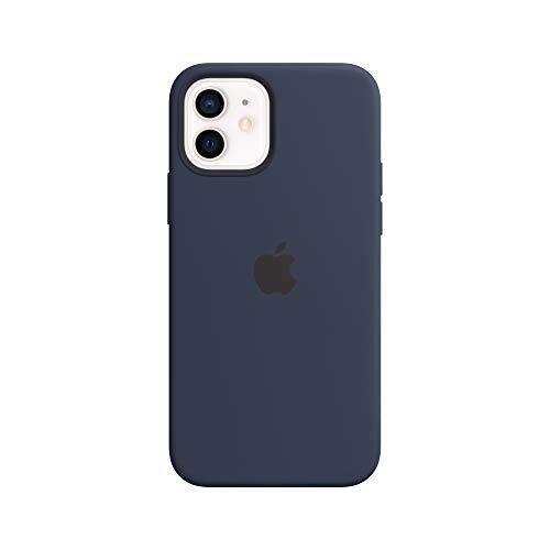 Apple SilikonCase mit MagSafe (für iPhone 12 | 12 Pro) - Dunkelmarine
