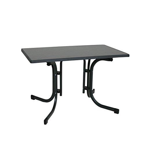 Ribelli Klapptisch Esstisch Gartentisch 110x70x70cm - klappbarer Tisch für den Garten, als Beistelltisch oder Campingtisch mit Niveauregulierung...
