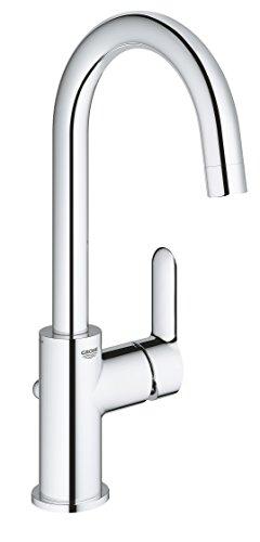 GROHE BauEdge | Badarmaturen - Einhand-Waschtischbatterie | DN 15 | L-Size | chrom | 23760000