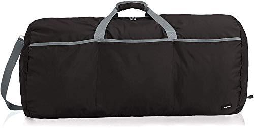 AmazonBasics - Seesack / Reisetasche, groß, 98 l, Schwarz