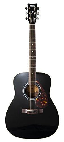 Yamaha F370 Westerngitarre schwarz – Hochwertige Dreadnought-Akustikgitarre für Erwachsene & Jugendliche – 4/4 Gitarre aus Holz