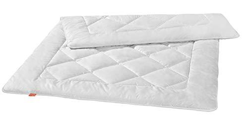 liebling Premium Kamelhaardecke aus 100% Kamelhaar, Wärmeklasse: leichte Sommerdecke, 135 x 200 cm, weiß