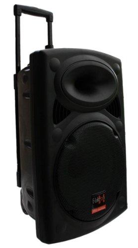 E-Lektron EL30-M Mobile PA Sound Anlage Akku-MP3-USB-SD inkl. Funkmikrofone 700W Soundsystem
