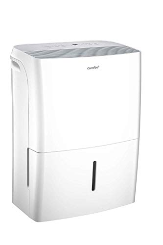Comfee dehumidifier 【APP-capable wireless control】, dehumidifier 【16L in 24h】, 【room size about 80m³ (32m²)】, 170ca.m³ / h air flow, 3 power levels, ...