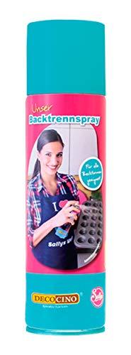 DECOCINO Backtrennspray – 200 ml – pflanzliches Backspray zum Einsprühen & Einfetten von Backformen, Silikonformen, Waffeleisen, Sandwich-Makern uvm. – ohne...