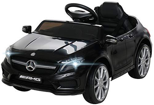 Actionbikes Motors Kinder Elektroauto Mercedes Benz Amg GLA45 - Lizenziert - Rc 2,4 Ghz Fernbedienung - Softstart - SD-Karte - USB - MP3 - Elektro Auto für Kinder...