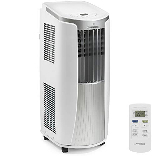 TROTEC 1210002006 Local mobile air conditioner PAC 2010 E with 2.1 kW / 7.200 Btu (EEK: A) 3-in-1 air conditioner: cooling, ventilation, dehumidification / incl. intelligent ...