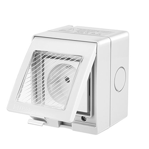 TTAototech Wlan Smarte Steckdose, WiFi-Steckdose Kompatibel mit Alexa Google Home, IP55 Wasserdichte drahtlose Außenfernbedienung mit Timer-Funktion,...