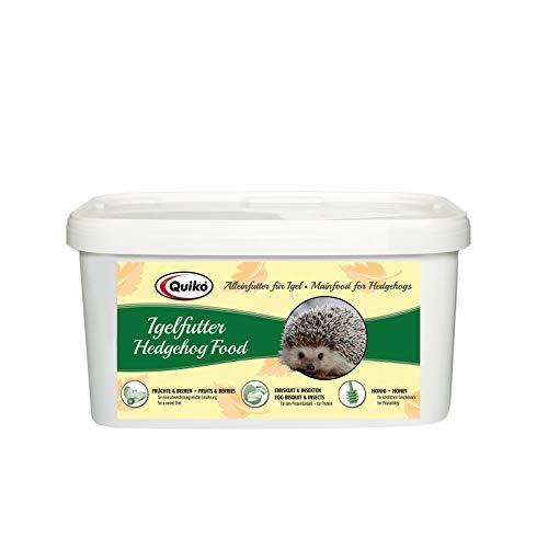 Quiko Igelfutter 3kg - Hochwertige Vollnahrung mit Insekten, Ei-Bisquit, Früchten & Beeren - Speziell auf die Bedürfnisse des Igels abgestimmt