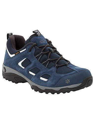 Jack Wolfskin Men's Vojo Hike 2 Texapore Low M Waterproof Trekking & Hiking Loafers, Blue (Night Blue 1010), 44 EU