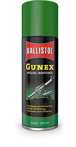 Ballistol Unisex Waffenpflege Gunex Waffenöl Spray, Mehrfarbig, 200 ml