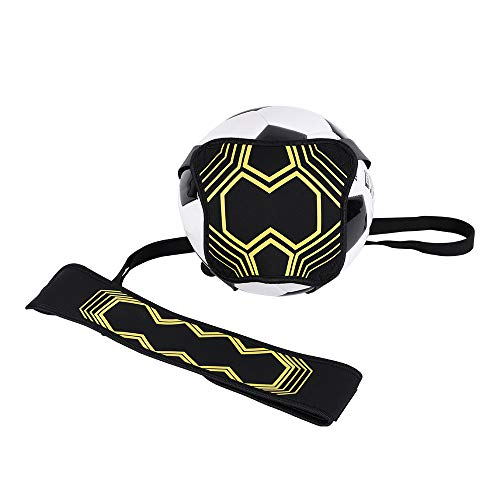 TTMOW soccer kick trainer solo soccer training aid with adjustable waist belt, hands-free soccer coach waist belt, training aid for children and ...